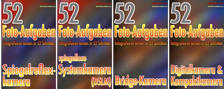 4 Fotografieren-lernen Bände